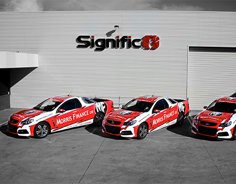 Signific Geelong - Morris Finance Vehicle Wraps